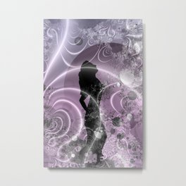 lilac moondance Metal Print
