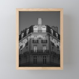 Architecture in the morning Framed Mini Art Print