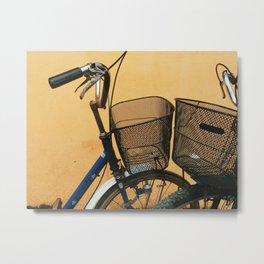 Un Vélo Metal Print