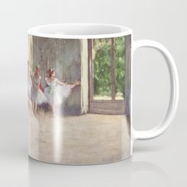 Ballet Rehearsal 1873 By Edgar Degas | Reproduction | Famous French Painter Coffee Mug