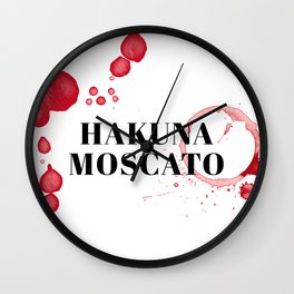 wine bar no. 6 Wall Clock