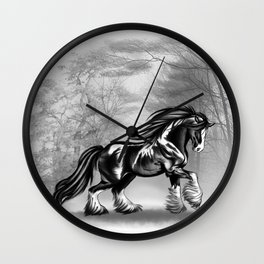 Black Shire Wall Clock