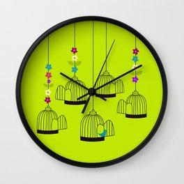 BIRDS 03 Wall Clock