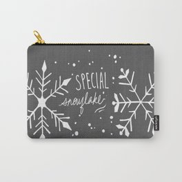 Special Snowflake (Grey) Carry-All Pouch