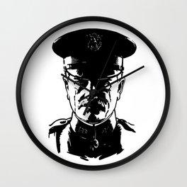 General John Pershing Wall Clock