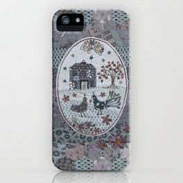 Peacock Manor iPhone Case