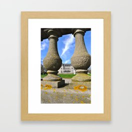 Newport Mansion Framed Art Print