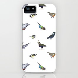 Birds birds birds iPhone Case