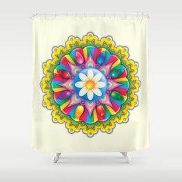 Kandy Mandala Shower Curtain
