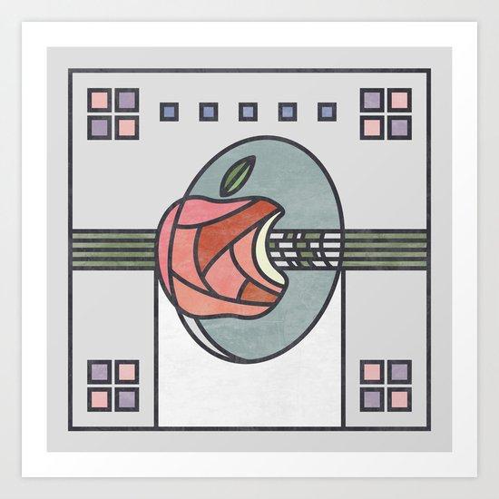Mackintosh Apple Art Print