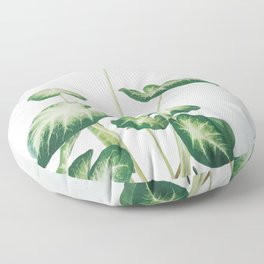 Cluster of Leaves Floor Pillow