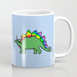 Stegocorn (Unicorn Stegosaurus) Coffee Mug