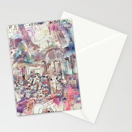 Abstract 3536 Stationery Cards