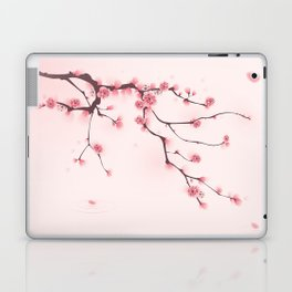Oriental cherry blossom in spring 002 Laptop & iPad Skin