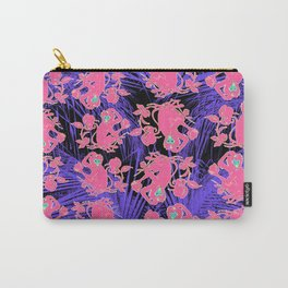 Pink Monkeys Carry-All Pouch