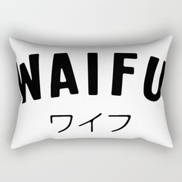 Waifu Rectangular Pillow