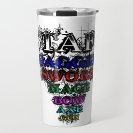 STAFF T-shirt Travel Mug