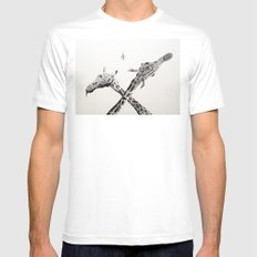 MiG 22 Flogger-B  MEDIUM Mens Fitted Tee White