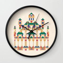 Block Façade Wall Clock
