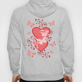 Butterflies and Hearts Hoody