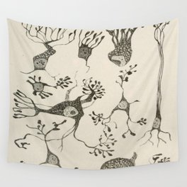 Neuron Cells Wall Tapestry
