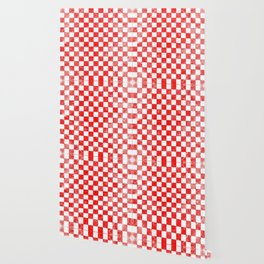 Red checkers Wallpaper