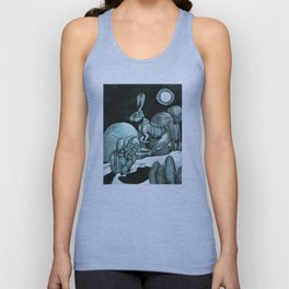 Jackrabbit Brings the News Unisex Tank Top