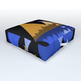Wolfpack Passage #7 Outdoor Floor Cushion