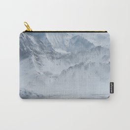 Snow Mountains Carry-All Pouch