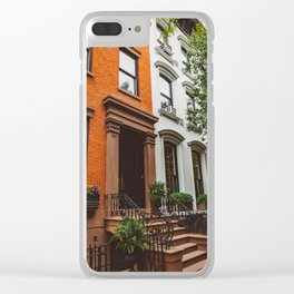 Brooklyn Heights II Clear iPhone Case