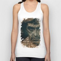 scarface Tank Tops featuring Scarface by Diego Tirigall