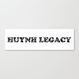 Huynh Legacy Scattered Leaves Canvas Print