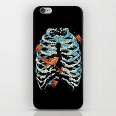 FISH BONE iPhone Skin