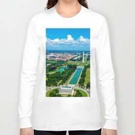 DC from Above Long Sleeve T-shirt