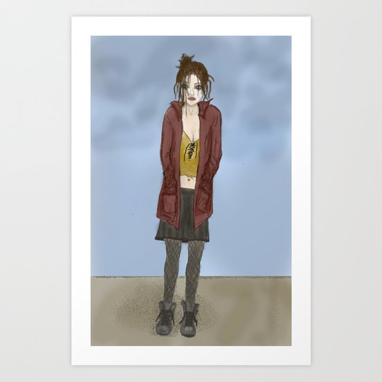 Black Days Art Print