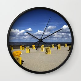 North Sea Coast Wall Clock