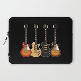Four Electric Guitars Laptop Sleeve
