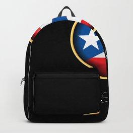 Feliz Navidad Puerto Rico Flag Backpack