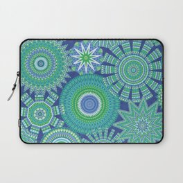 Kaleidoscopic-Oceania colorway Laptop Sleeve