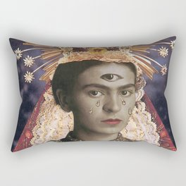 Saint Frida  Rectangular Pillow