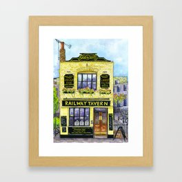 The Railway Tavern, Chelmsford Framed Art Print