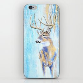 Winter Buck iPhone Skin