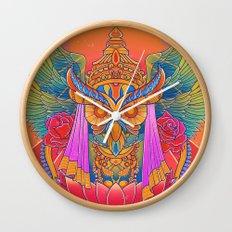 Goddess of the Night Wall Clock
