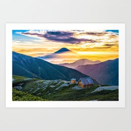Mt Fuji I Art Print