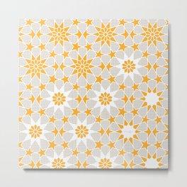 Pivot Star Pattern  Metal Print
