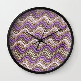 Sueño de olas Wall Clock