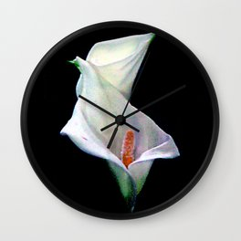 The Calla Lilies Are in Bloom Again... Wall Clock