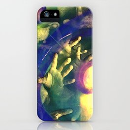 Reach Out And Touch Faith iPhone Case