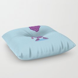 Grapes With Balloons Floor Pillow