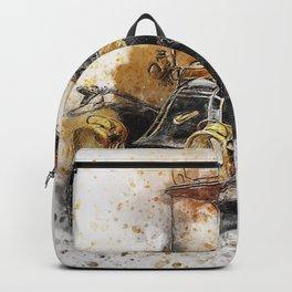 Vintage Car Backpack